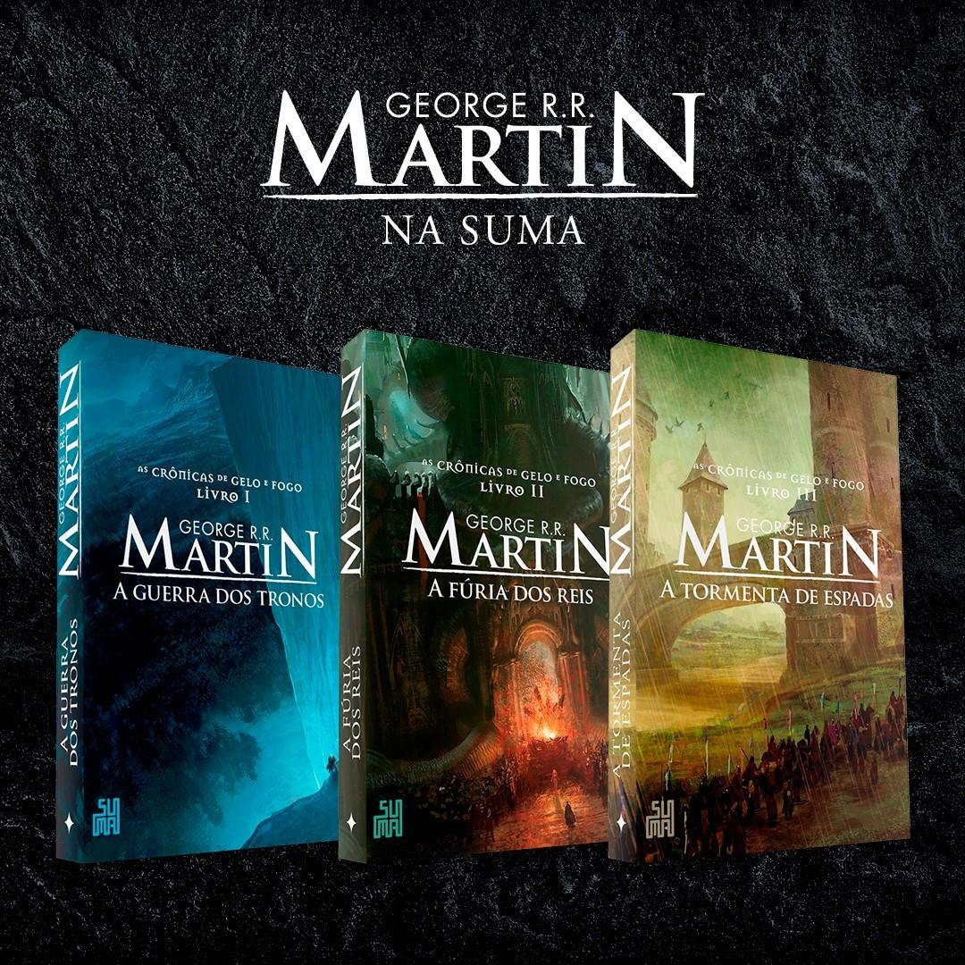 bc6df23b6 George R. R. Martin na Suma  selo do Grupo Companhia das Letras é a nova  casa do autor no Brasil